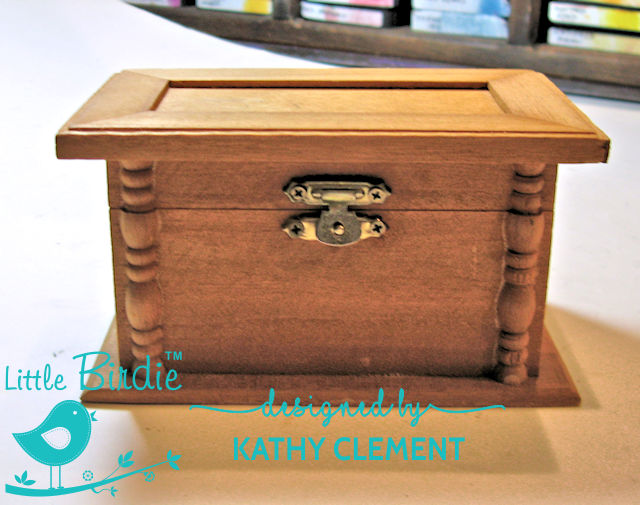 Altered Button Box by Kathy Clement for Little Birdie Crafts Photo 05
